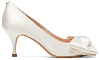 Kate Spade Crawford Bow Satin Pumps