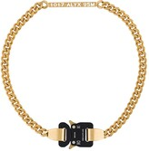 Alyx chain-link buckle necklace