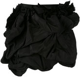 DSQUARED2 ruffle mini skirt - women - Silk/Cotton/Polyester - 38