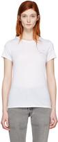 Rag & Bone Ssense Exclusive White Embroidered T-shirt