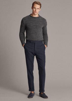 Ralph Lauren Herringbone Suit Trouser