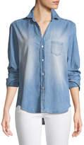 Frank And Eileen Eileen Long-Sleeve Button-Down Denim Shirt