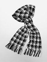 Calvin Klein Womens Fringe Blanket Scarf