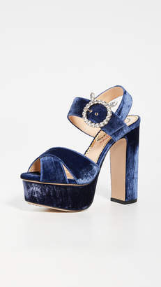 Charlotte Olympia Aristocrat Tall Platform Sandals