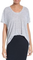 ATM Anthony Thomas Melillo Women's Boyfriend U-Neck Tee