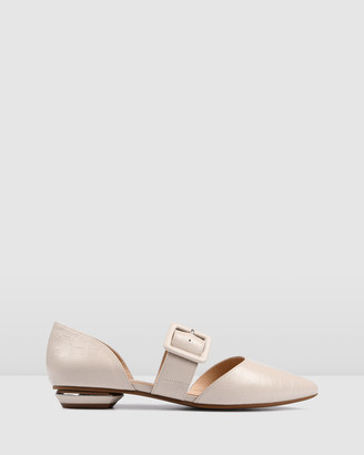 Jo Mercer - Women's Neutrals Brogues & Loafers - Clover Dress Flats - Size One Size, 39 at The Iconic