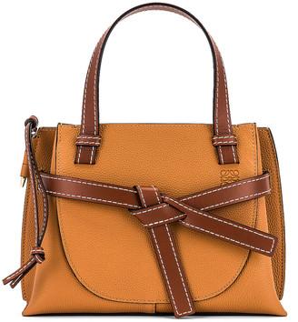 Loewe Gate Top Handle Mini Bag in Light Caramel | FWRD