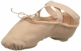 Bloch Girl's Dance Zenith Split Sole Stretch Canvas Ballet Shoe/Slipper