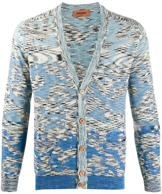 Missoni Abstract-Print Cotton Cardigan