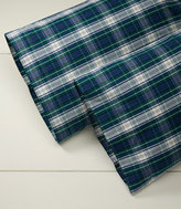 L.L. Bean Heritage Plaid Percale Pillowcases, Set of Two