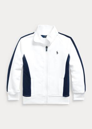 Ralph Lauren Cotton-Blend-Fleece Track Jacket