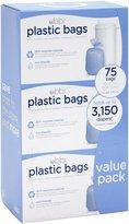 Ubbi Plastic Bags - 25 ct - Blue