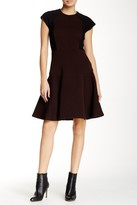 Taylor Color Block Ribbed Dress 5808M