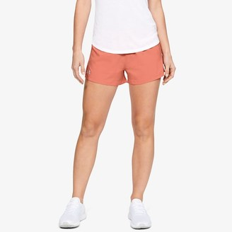 Under Armour Go All Day Shorts - Coral Dust / Reflective