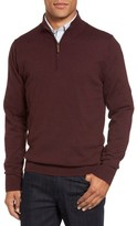 Nordstrom Men's Half Zip Cotton & Cashmere Pullover