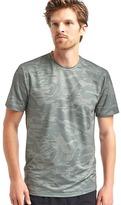 Gap Camo mesh crewneck t-shirt