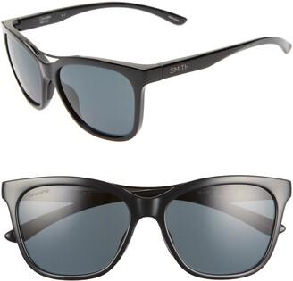 Smith Cavalier 55mm ChromaPop(TM) Polarized Cat Eye Sunglasses