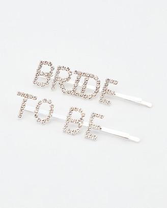 Le Château Bride-To-Be Hair Clips Set
