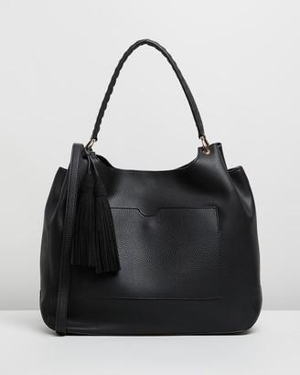 Dorothy Perkins Double Tassel Hobo Bag