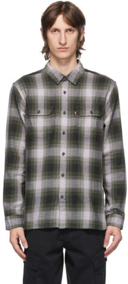 Levi's Levis Green Check Jackson Worker Shirt
