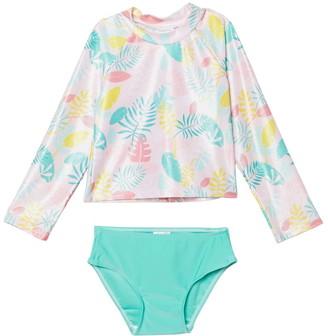 Sol Swim Summer Sway Rashguard Set