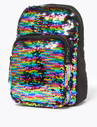 Marks and Spencer Kids' Reversible Sequin Mini Backpack