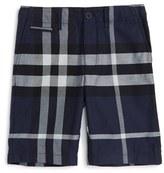 Burberry Boy's 'Tristen' Check Pattern Shorts