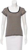 Sonia Rykiel Striped Short Sleeve Top