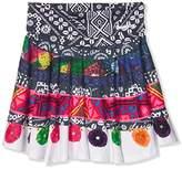 Desigual Girl's FAL_ARGENÇOLA Skirt,(Manufacturer Size: 3/4)