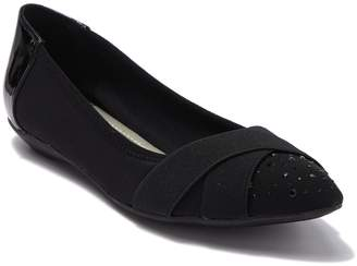 Anne Klein Oasis Pointed Toe Flat