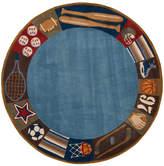 Viv + Rae Johnnie Denim Hand-Tufted Blue Kids Rug Rug