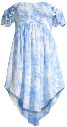 Tiare Hawaii Hollie High-Low Printed Dress