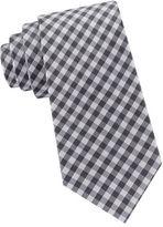 Black Brown 1826 Gingham Everyday Silk Tie