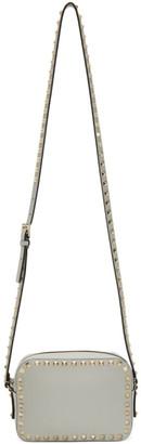 Valentino Grey Garavani Rockstud Crossbody Bag