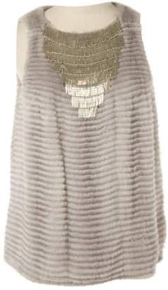 Christian Dior \N Grey Mink Tops