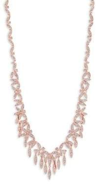 Adriana Orsini Anise Crystal V Necklace