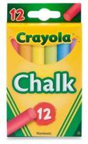 Crayola Multi-Colored Children's Chalk (12-Count)