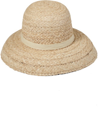 LACK OF COLOR Bloom Raffia Sun Hat