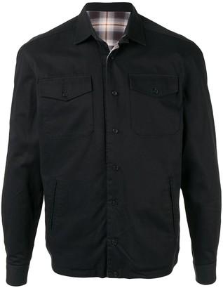 Kent & Curwen Flap Pocket Shirt Jacket