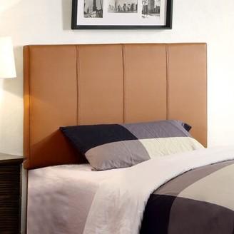 Hokku Designs Temara Upholstered Panel Headboard Size: Twin, Upholstery: Clay