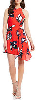 Style Stalker Harley Printed Asymmetrical Circle Dress