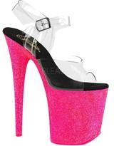 Pleaser USA Women's Flamingo 808UVG Platform Sandal