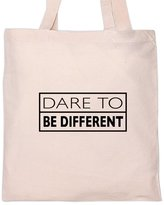 Shirt Mania DARE TO BE DIFFERENT Tote Bag