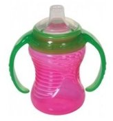 Munchkin Mighty Grip Trainer Cup, 8 Ounce, Pink by