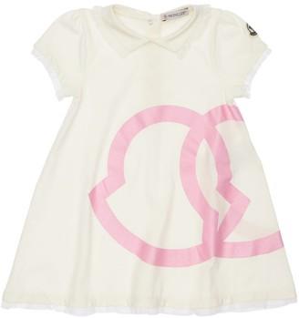 Moncler Printed Cotton Jersey Dress