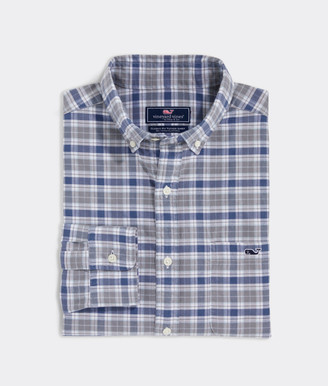 Vineyard Vines Classic Fit Hawkins On-The-Go Performance Button-Down Shirt