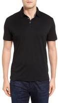 Robert Barakett Men's Batiste Pima Cotton Polo
