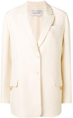 Valentino V hardware blazer