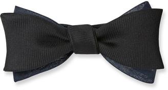 Title Of Work Men's Silk Gazaar Organza Bow Tie