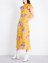 Coach Daysy floral cotton dress